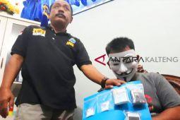 BNNK Palangka Raya tangkap residivis kurir sabu