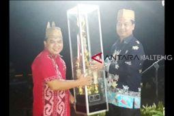 Kecamatan Lamandau pertahankan juara umum pada Festival Babukung