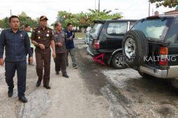 37 mobil hasil sitaan hasil korupsi