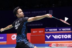 Anthony Ginting raih tiket final China terbuka