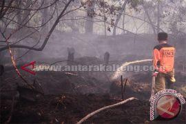 BPK Aulia Padamkan Lahan Terbakar
