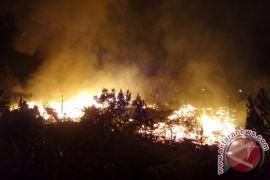 Mess Karyawan PT Korindo Pangkalan Bun Ludes Terbakar
