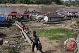 Sungai Barito Surut