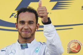 Hamilton raih posisi start terdepan di GP Spanyol