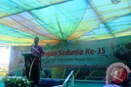 Gubernur Buka Hari Pangan Sedunia Di Seruyan