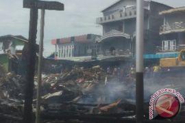 Kebakaran Pasar Pelita Hulu Puruk Cahu