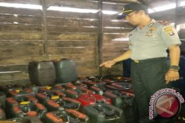 Gerebek BBM Ilegal di Mentaya Hilir Utara