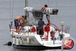 Para Yachter mulai tinggalkan perairan Kumai menuju Belitung