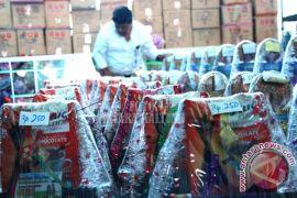 Pedagang Palangka Raya Marak Jajakan Parcel Natal