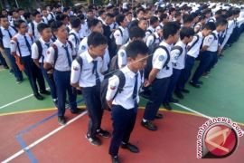 Ratusan Pelajar Seruyan antusias ikuti sosialisasi taat hukum