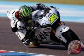 Cal Crutchlow posisi start terdepan motoGP Spanyol