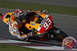 Marquez raih start GP Belanda di posisi terdepan