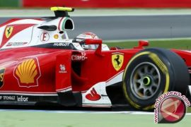 Kimi Raikkonen tempati start terdepan di GP Italia