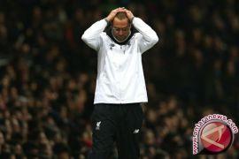 Liverpool ditahan Everton saat Mohamed Salah absen