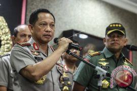 Polri dan TNI Bertemu Tangani Demo