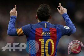 Gol ke-100 Messi, bawa Barcelona ke perempatfinal Liga Champions