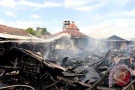 Polres Palangka Raya Selidiki Kebakaran Belasan Rumah