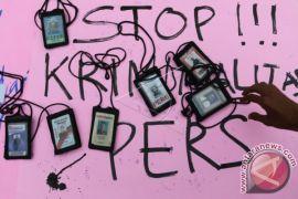 Aksi Tolak Penganiayaan Jurnalis