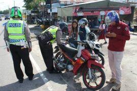 Pengendara motor ke Palangka Raya diimbau tingkatkan kewaspadaan
