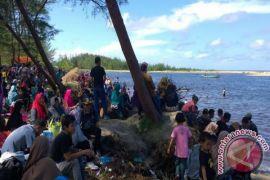Objek Wisata Sungai Bakau Seruyan Dipadati Ribuan Pengunjung