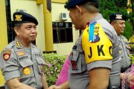 Tiga Pejabat Polda Kalteng Naik Pangkat Kombes