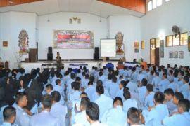 Kodim Sampit Sosialisasikan Wawasan Kebangsaan ke Sekolah