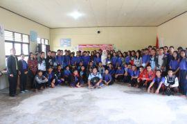 Siswa SMAN 1 Timpah Antusias Ikuti Sosialisasi Empat Pilar