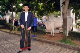 Presiden Rayakan Idul Adha di Sukabumi