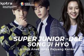 Super Junior D&E dan Song Ji-hyo Ajak Fans Bantu Anak Kanker Indonesia