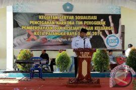 Siswa SMP Palangka Raya Gebyar Anti Narkoba