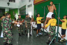 137 Pemuda Kalteng Ikuti Seleksi Bintara TNI-AD