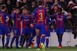 Real Madrid tersendat, Barcelona Rajai Klaseman Liga Spanyol