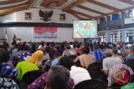 Ratusan Warga Deklarasikan Desa Aman di Kotim