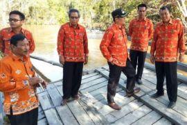 Pembangunan Darurat Jembatan Konjoi di Targetkan Selesai 10 Hari