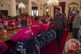 Presiden Jokowi Terima Atlet Paragames