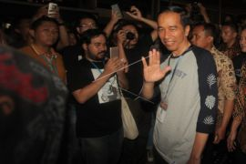 Presiden Jokowi Nonton Synchronize Festival 2017