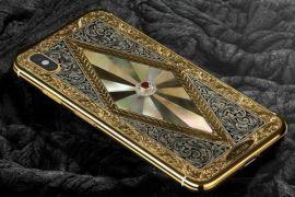 Wah! Apple Perkenalkan iPhone X Bertabur Berlian dan Berlapis Emas