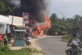 Kios BBM di Tewah Gumas Terbakar, Kerugian Capai Rp 500 Juta