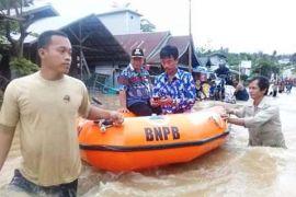 Banjir Jalan Muara Teweh-Banjarmasin Sudah Surut