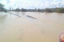 Banjir di Putai Bartim Mulai Surut