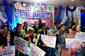 Babak Final Festival Dangdut Barsel Berlangsung Ketat, Ini Para Juaranya