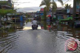 Meluapnya Sungai Barito, Sejumlah Wilayah Barito Utara Dilanda Banjir