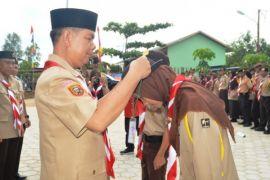 Madrasah Aliyah se-Kabupaten Kapuas Ikuti Perkemahan