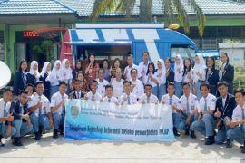 Diskominfosantik Kalteng Sosialisasi MCAP di SMAN-2 Kuala Kapuas