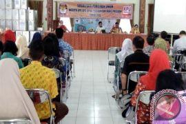 KPU Barsel Sosialisasi Pemilu dan Pilpres 2019