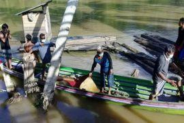Jasad Warga Tenggelam di Sungai Teweh  Ditemukan