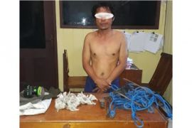 Pencuri Sarang Walet di Kotim Tertangkap Basah