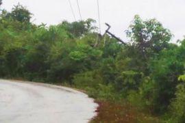 Akibat Tiang Listrik Roboh, Lima Desa di Barito Utara Padam
