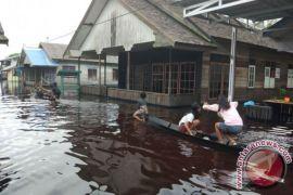 Dua Kecamatan di Kapuas Banjir, Ribuan Jiwa Terancam Keselamatannya