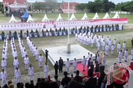 Bupati Kotim Tetap Lantik 77 Kepala Desa Terpilih